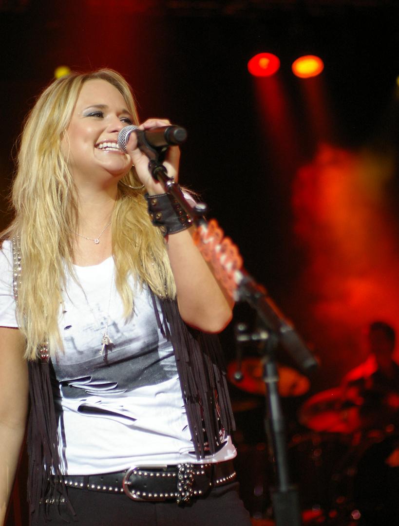 Miranda Lambert rockt Gstaad