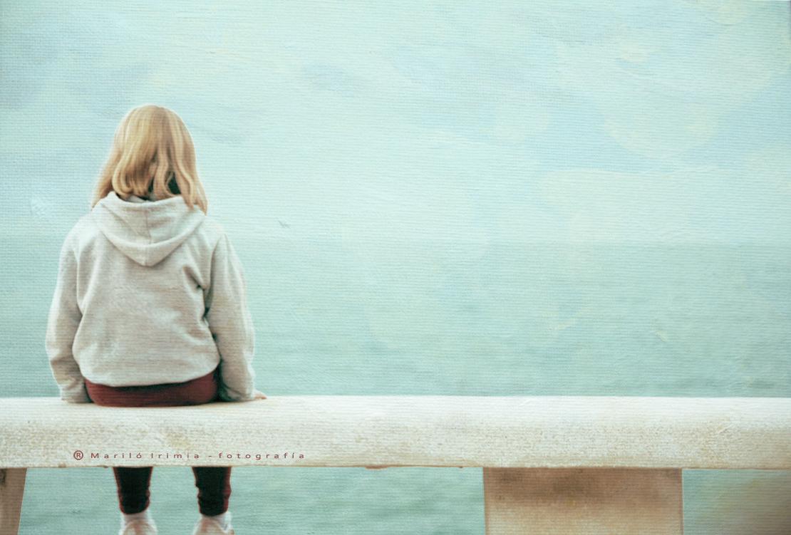 Mirando al mar ....