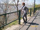 Mirando el rio Parana