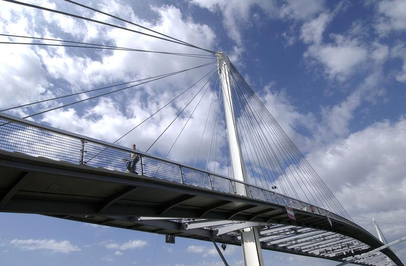 Miriambrücke Kehl/Straßburg