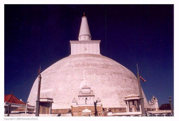 Mirisa Vatiya Dagaba in Anuradhapura, Sri Lanka