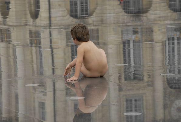 miroir d'eau à Bordeaux
