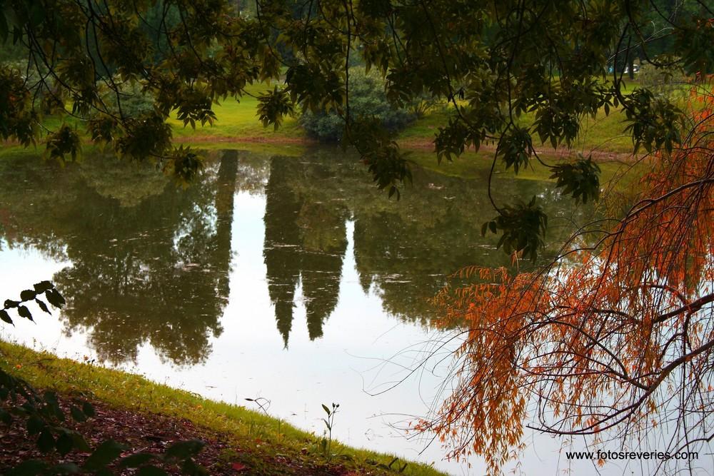 Miroir Réflexion......Herbstspiegel