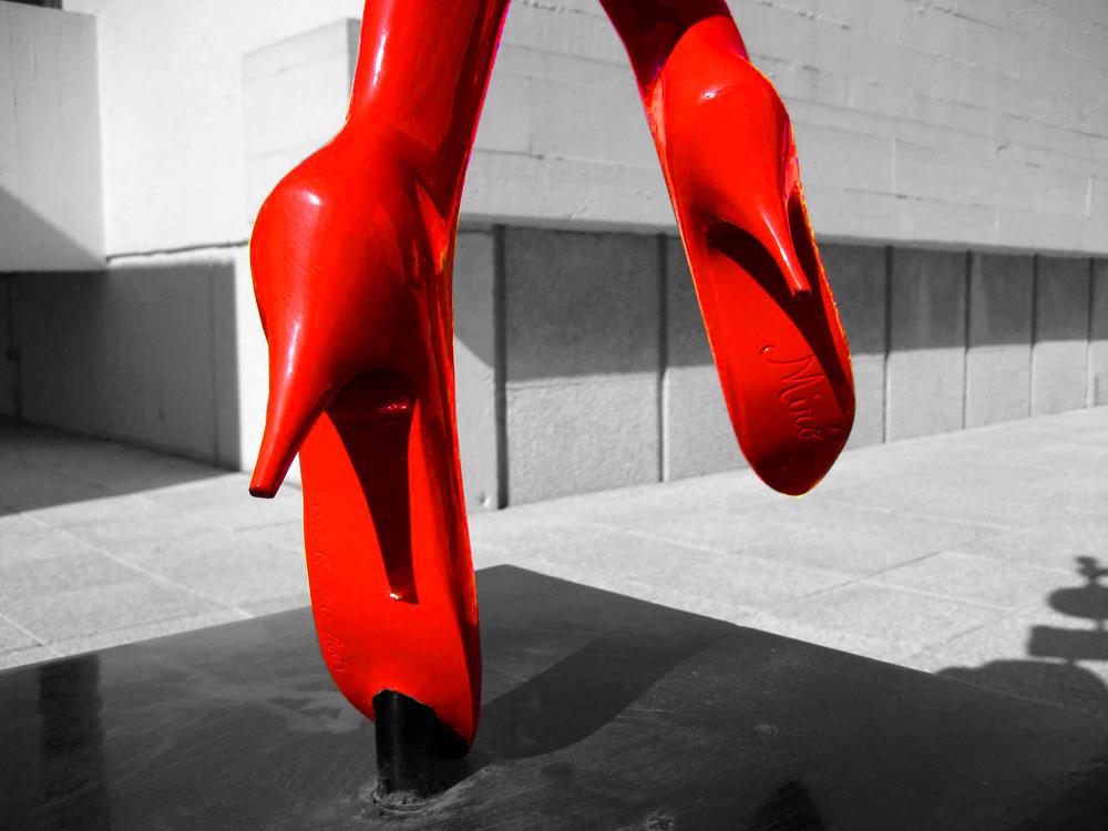 Miró's Feet
