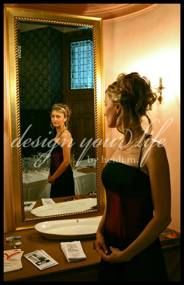 mirror image...