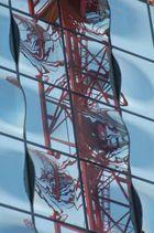 Mirror in the Hamburger-Hafen-City