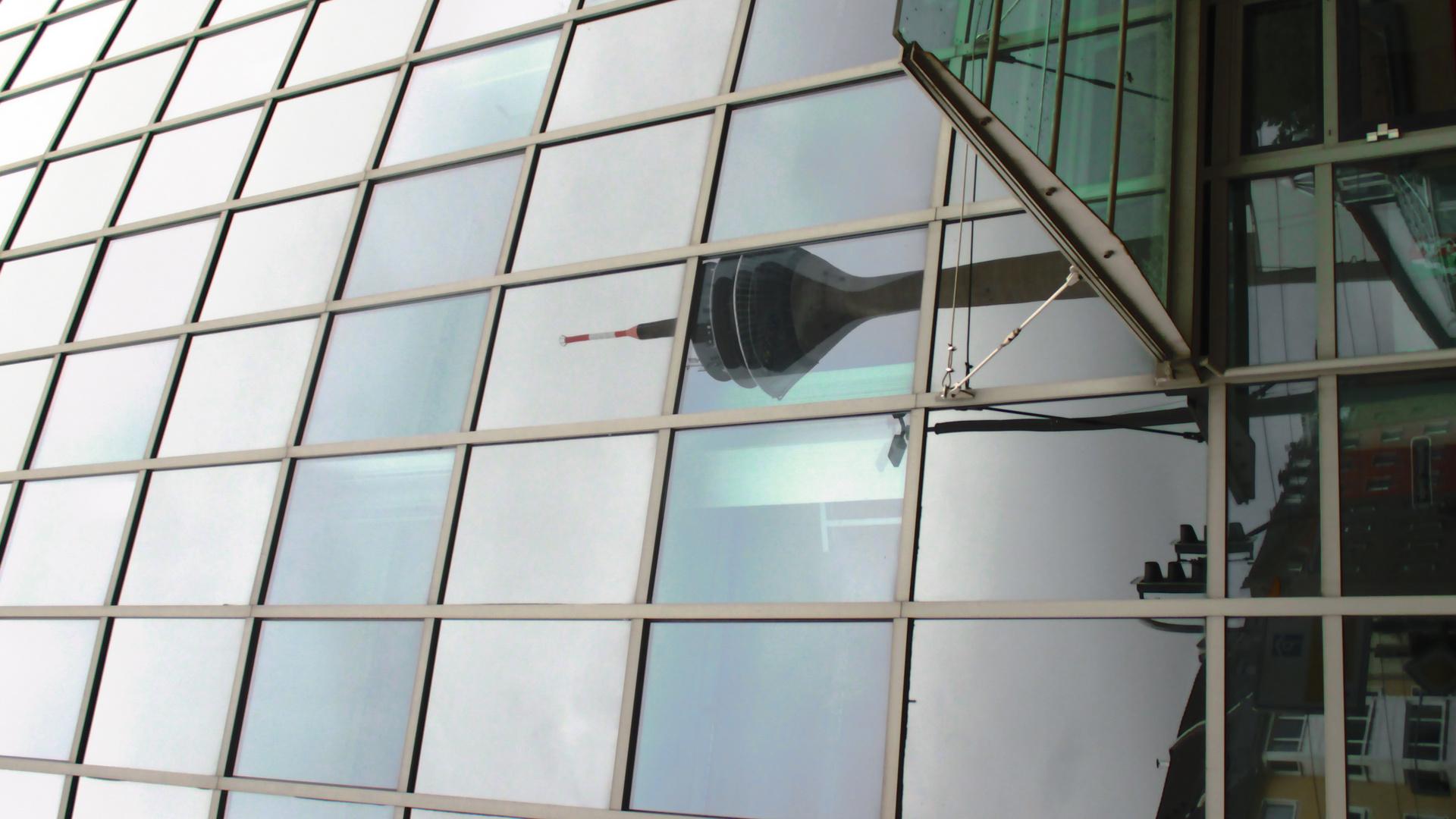 Mirror Pixel Fernsehrturm Düsseldorf