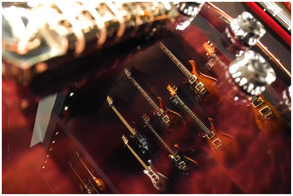 mirrored guitars