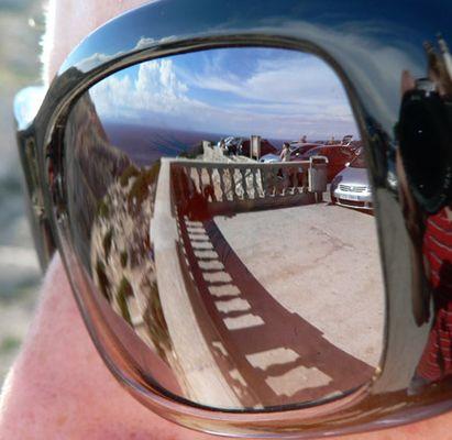 mirroring sunglasses