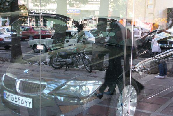 Mirrors in Tehran
