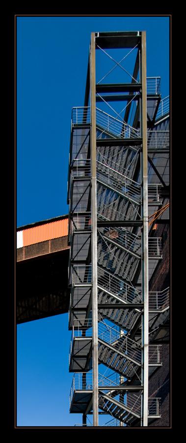 Mischanlage - Treppenaufgang