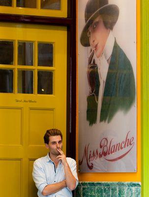Miss Blanche und der Koch...