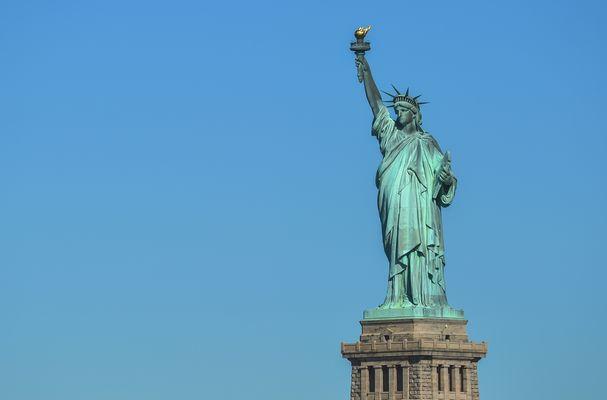 Miss Liberty erleuchtet die Welt...