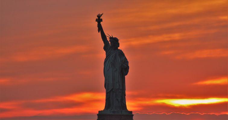 Miss Liberty - so schön kitschig