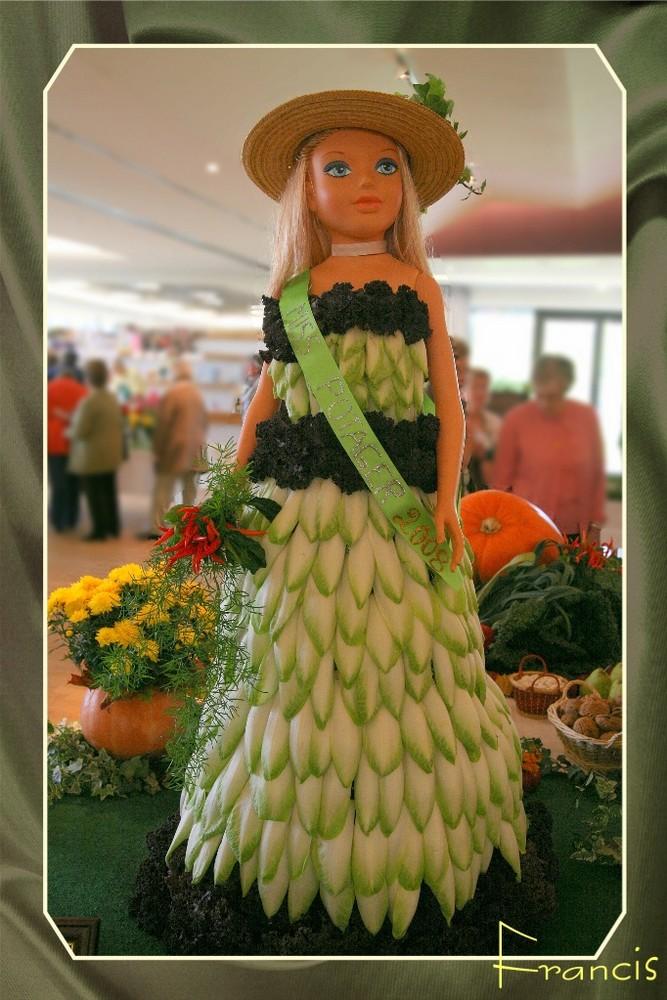 Miss Potager d'Alsace 2008