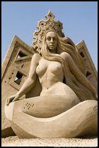 Miss Sand - Sandartfestival in Tossens