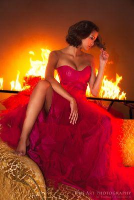 Miss Schweiz 2011 im Feuer - Alina Buchschacher