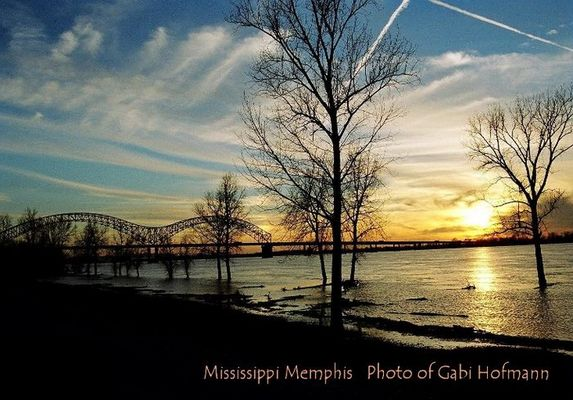 Mississippi Memphis Januar 2005