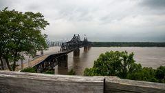 Mississippi River bei Vicksburg