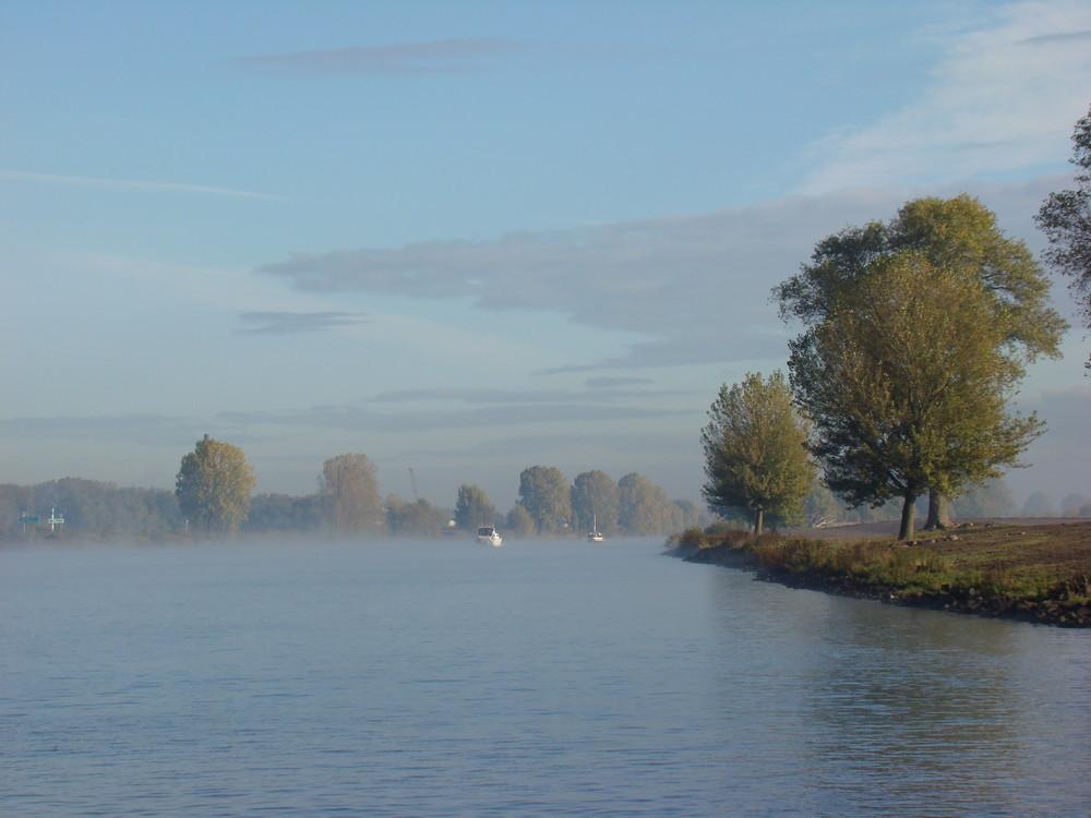 Mist over de Maas