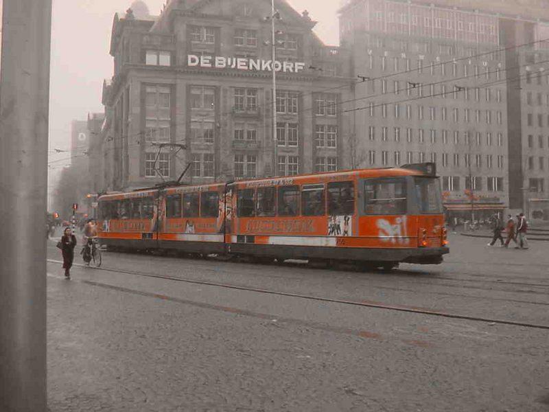 Misty Days in Amsterdam