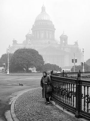 Misty St. Petersburg...