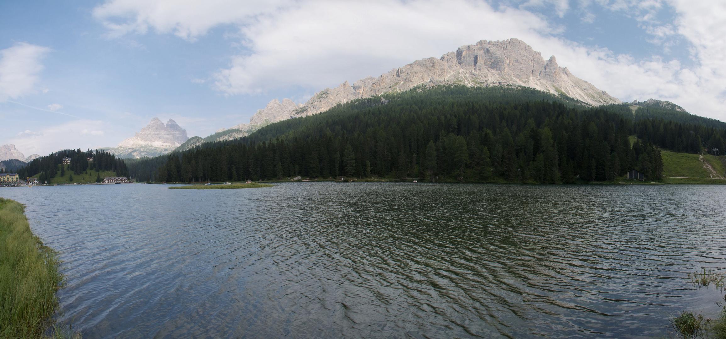 Misurinasee in den Dolomiten