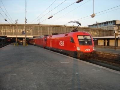 Mit 1116 035 und 101 055 im Schlepp von München Hbf nach Stuttgart Hbf