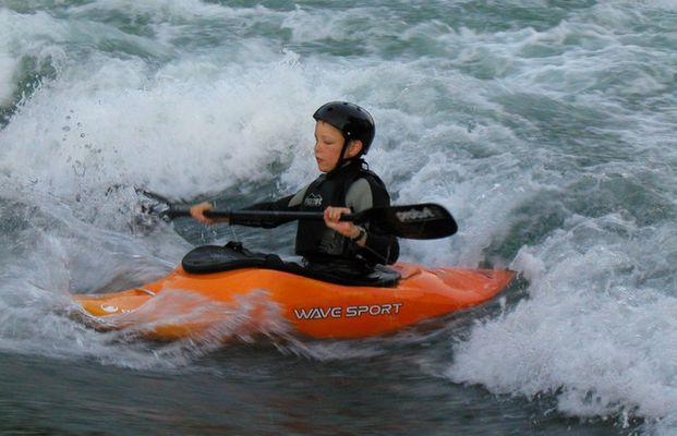 mit 13 auf der Welle in Bremgarten-Schweiz