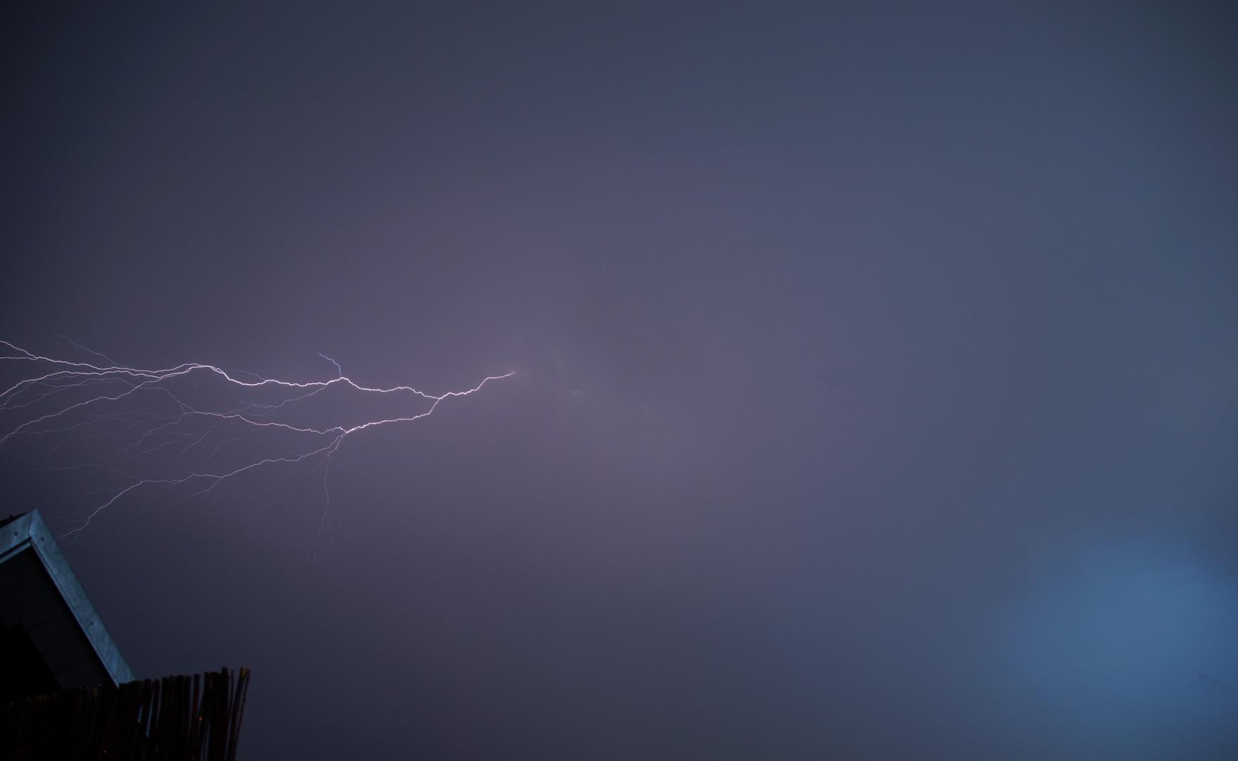 ...mit Blitz...