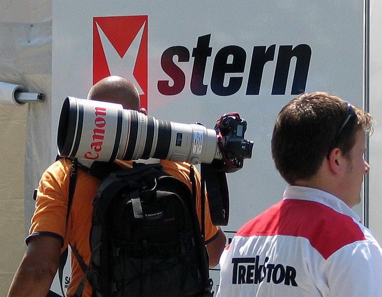 Mit Canon-en auf Stern-e schießen...