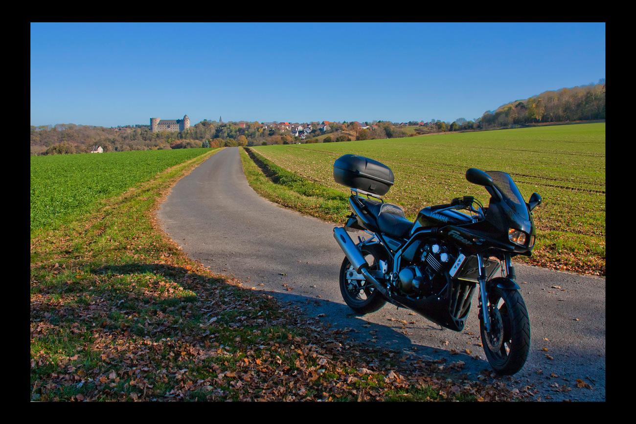 mit dem Bike zur Wewelsburg