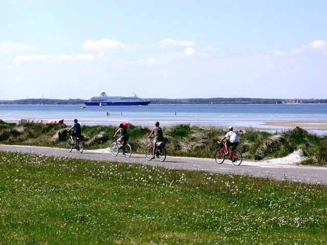 Mit dem Drahtesel an der Ostsee