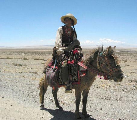 Mit dem Esel durch Tibet :-)
