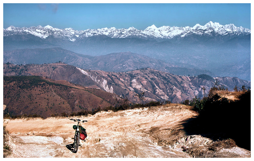 Mit dem Fahrrad im Himalaya
