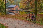 Mit dem Fahrrad in den Bürgerpark