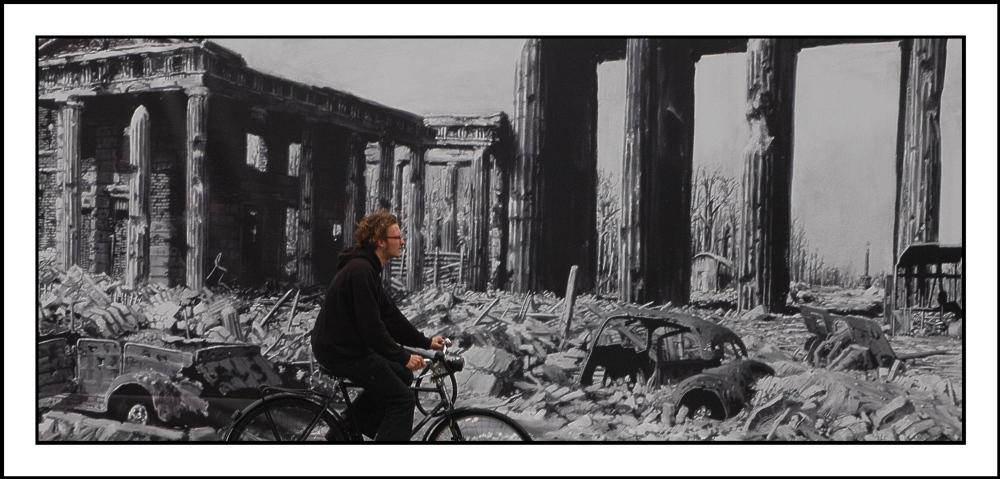 Mit dem Fahrrad in die Vergangenheit....