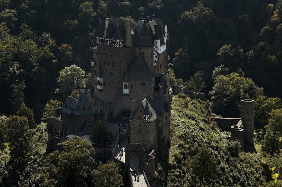 Mit dem Fahrrad zur Burg Eltz....