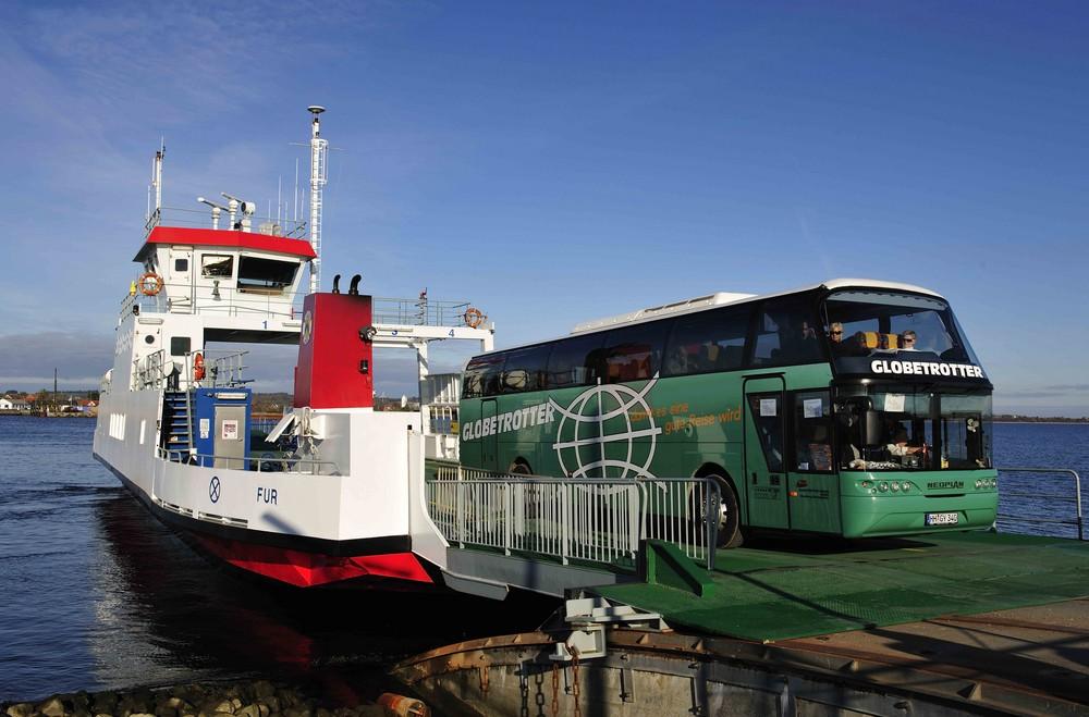 Mit dem Globetrotter Reisebus auf der Insel Fur