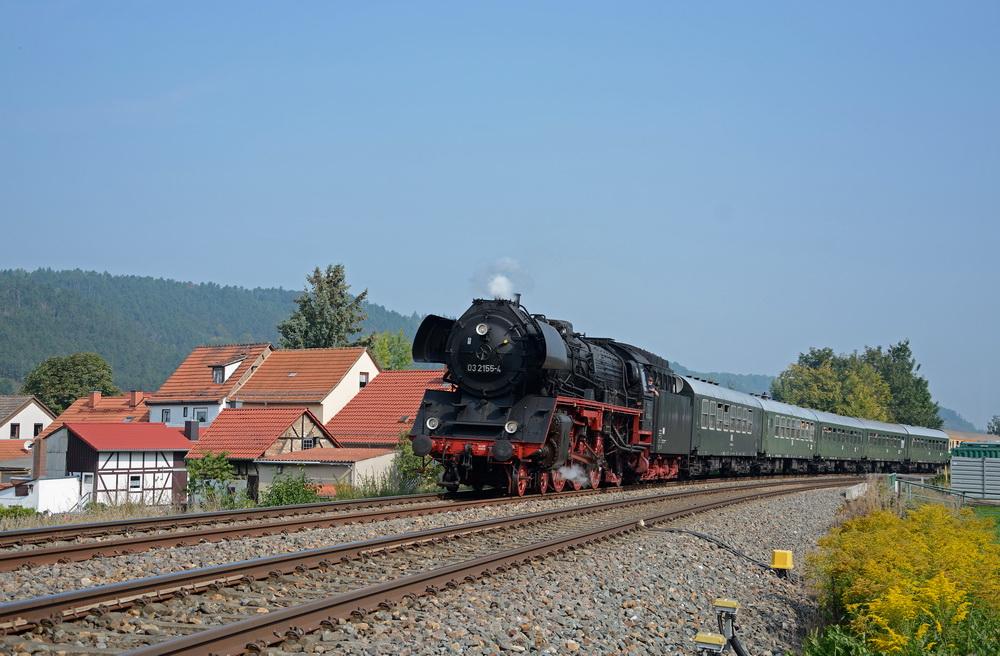 mit dem hohen Rad nach Meiningen