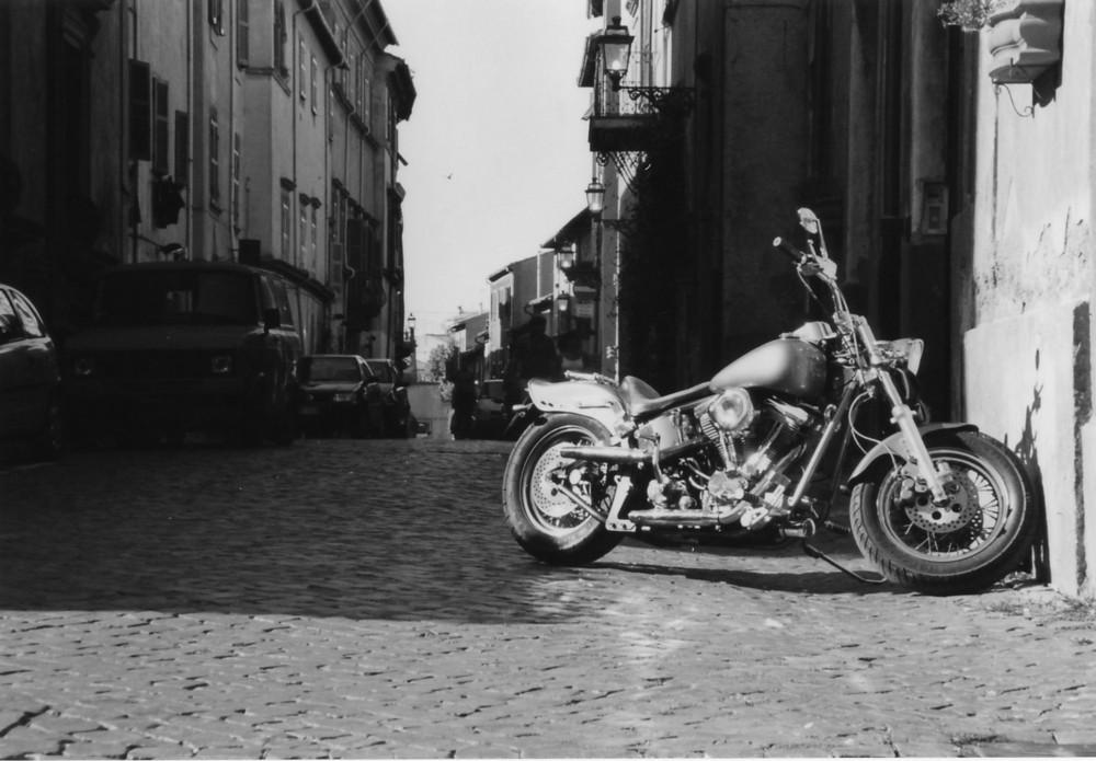 Mit dem Motorrad in Italien