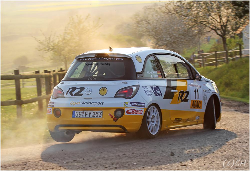 Mit dem Opel Adam R2 immer gut dabei...