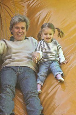 mit dem papa