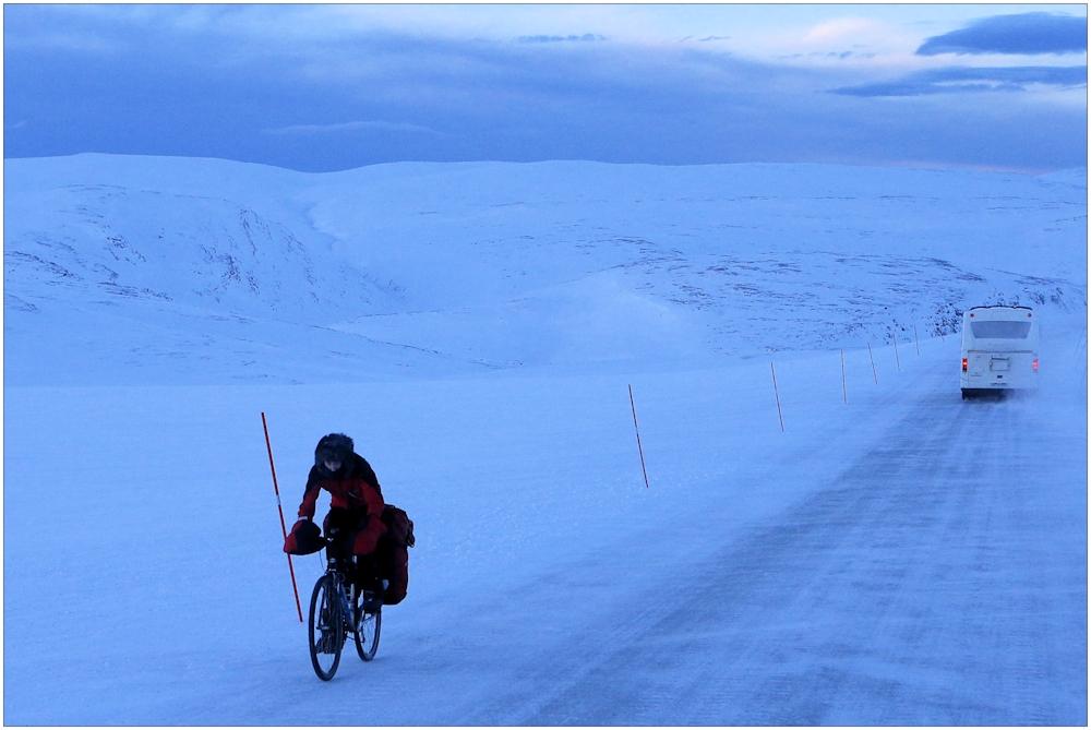 Mit dem Rad zum Nordkap...