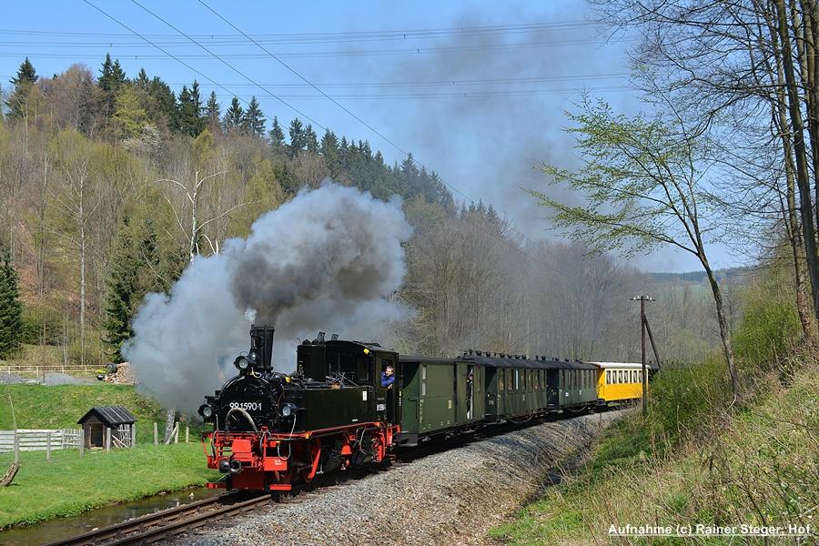 Mit dem Salonwagen von Steinbach nach Jöhstadt