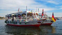 Mit dem Schiff über den Nil