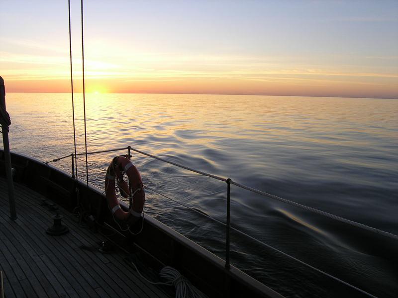 mit dem Segelschoner auf der Ostsee