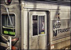 Mit dem Zug nach NYC