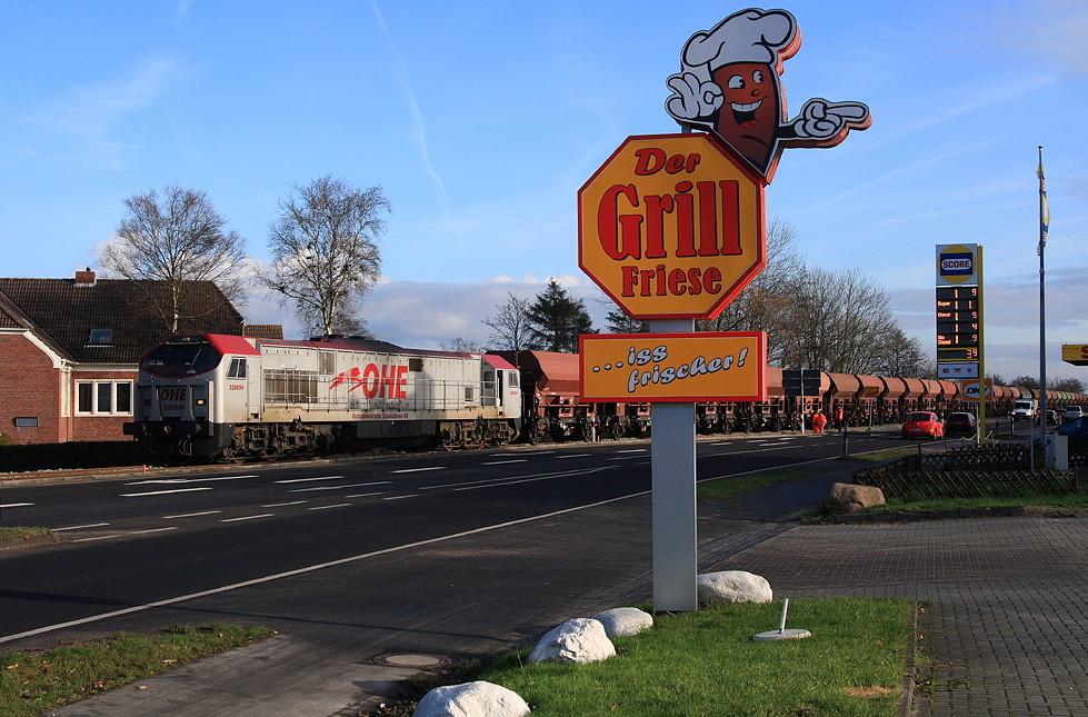 Mit dem Zug zur Pommesbude!