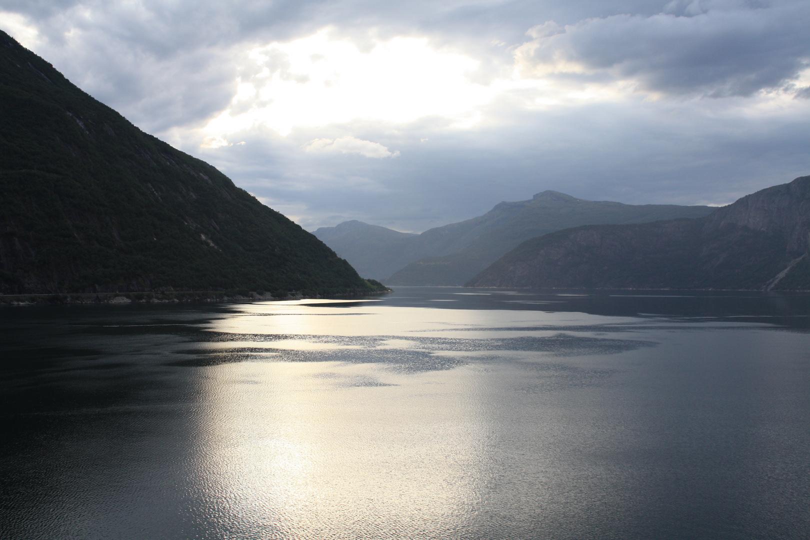 Mit der Aida Richtung Bergen